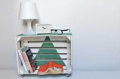 reciclar y crear muebles