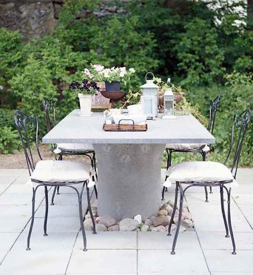 renovar  jardines con piedras