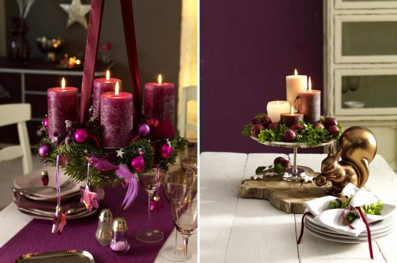 renovar la mesa navideña y de fin de año