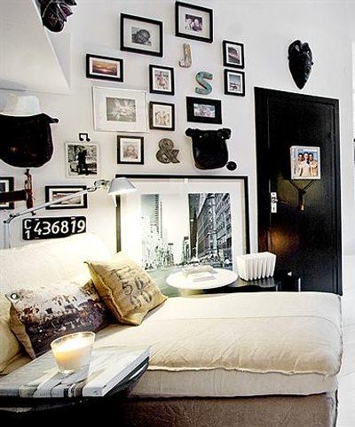 Rincones con encanto creatividad en la pared decoracion in for Decoracion con encanto