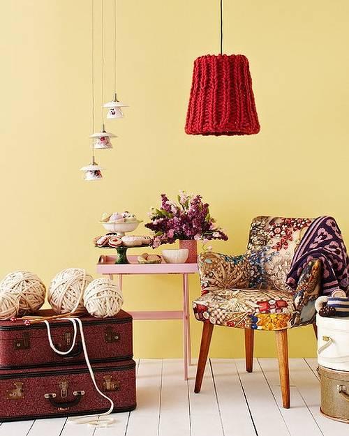 Rincones con encanto para relajarse y tejer decoracion in for Decoracion con encanto