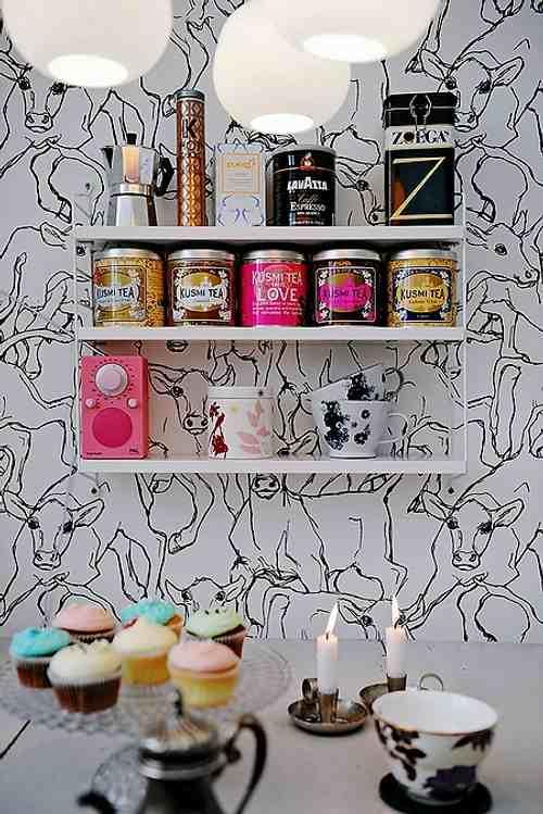 Rincones con encanto en la cocina latas que decoran for Decoracion con encanto