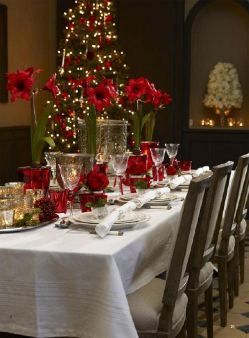 Tips decoraci n navidad rojo en navidad decoracion in for Decoraciones de casas modernas 2016
