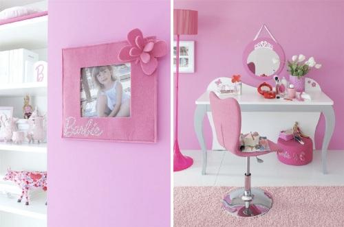 ... dormitorio ninas 1 Rosa y Barbie para el Dormitorio de las Niñas