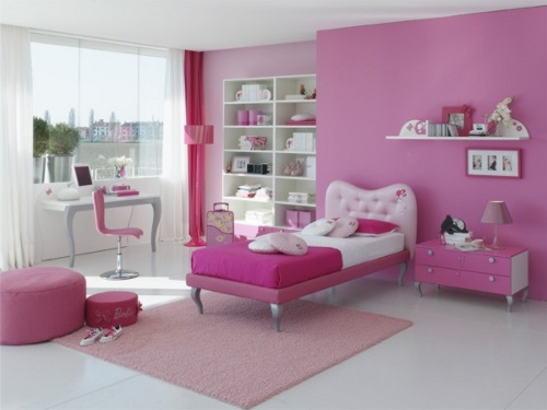 Rosa Y Barbie Para El Dormitorio De Las Ni As Decoracion IN