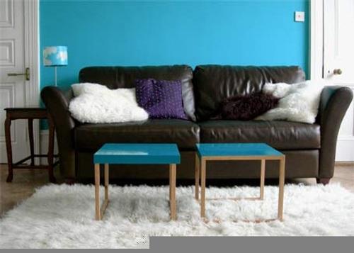 salones decorados en turquesa - Imagenes De Salones Decorados