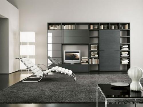Salones minimalistas de presotto italia decoracion in - Salones diseno italiano ...