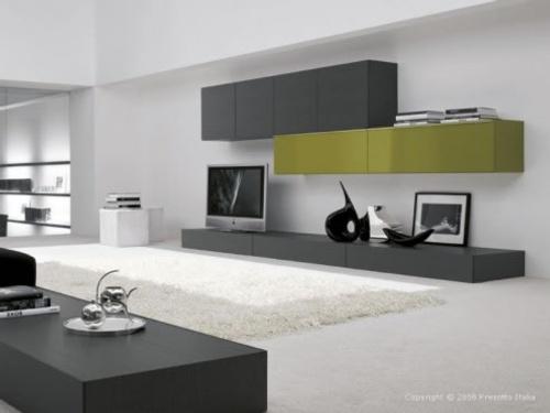 Salones minimalistas de presotto italia decoracion in - Salones minimalistas ...