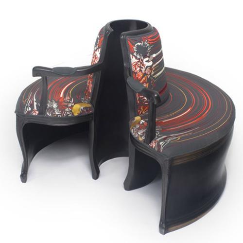 Muebles de Vanguardia de Sebastian Brajkovic