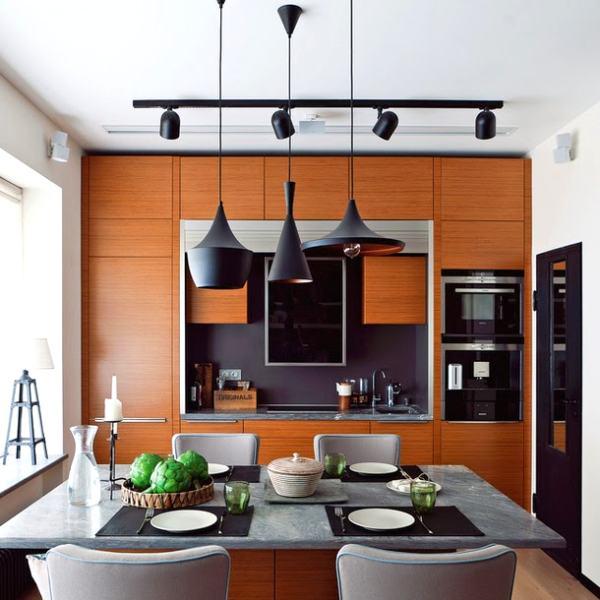 L mparas de dise o tom dixon para el comedor decoracion in - Iluminacion para cocina comedor ...