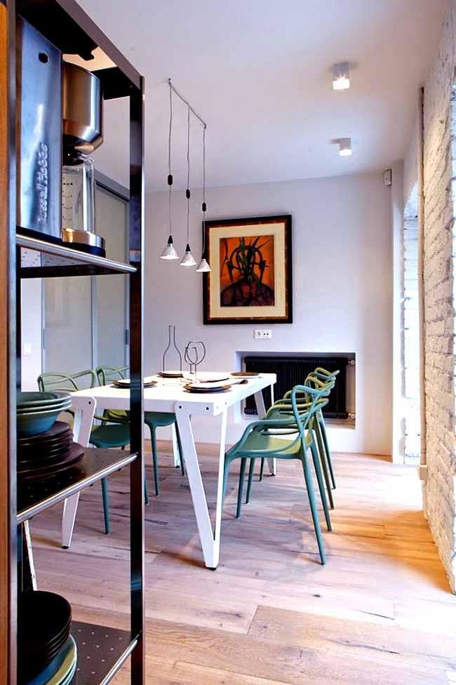 Muebles de diseño en un comedor actual   decoracion.in