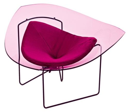 sillon-plexiglas-corolle-roche-bobois-1