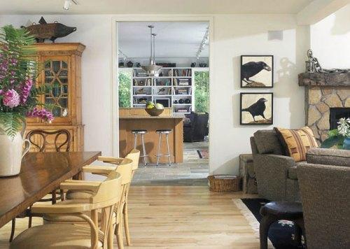 suelos de madera en casas contemporáneas