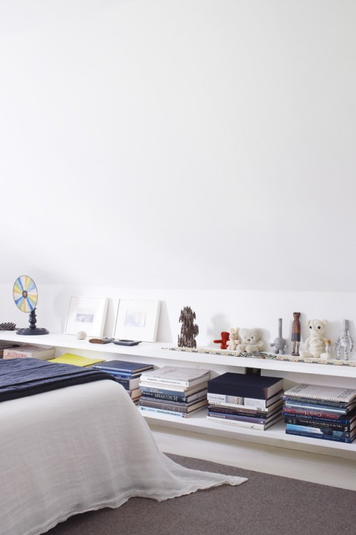 Suma espacio de almacenaje en dormitorios abuhardillados - Almacenaje dormitorio ...