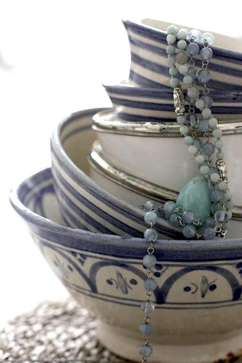 tazas de porcelana: usos originales