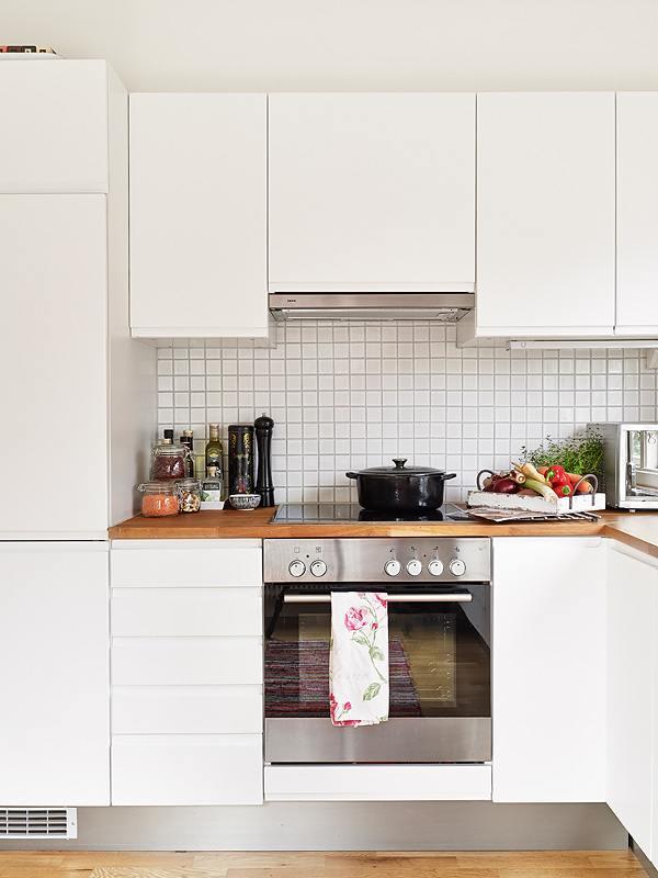 telas en la cocina