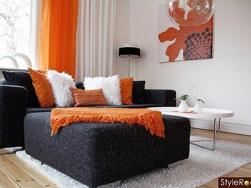 Cojines Decorativos Color Naranja