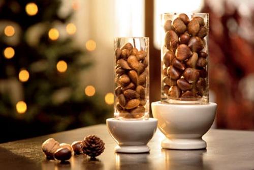 Tips decoraci n navidad sencillos centros de mesa for Adornos navidenos sencillos