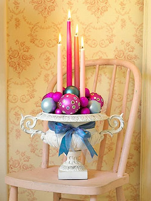 Tips decoraci n navidad rosa en navidad decoracion in - Decoracion adornos navidenos ...