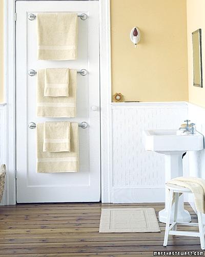 toalleros para el baño