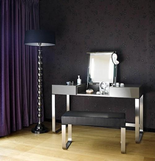 Tocador brillante y moderno decoracion in - Schminktisch modern ...