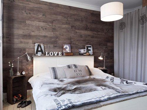 toques vintage en el dormitorio