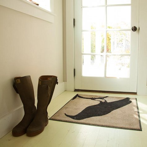 Trucos para decorar el recibidor suelo y alfombras for Alfombras recibidor