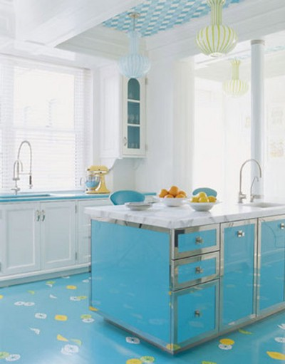 blue kitchen interior Exclusive luxury kitchen design ideas