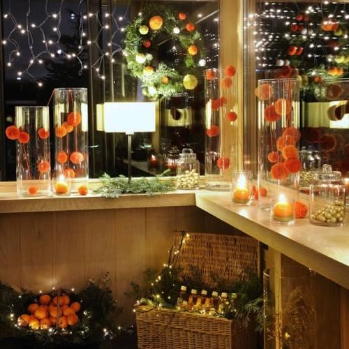 velas y luces para decorar estas fiestas