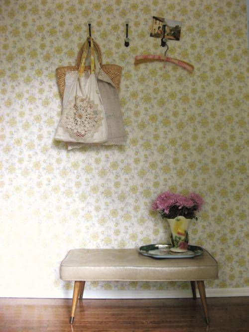 decorar con papel pintado