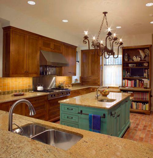 Ventajas de una isla de cocina o pen nsula decoracion in for Cocinas modernas con isla central y desayunador