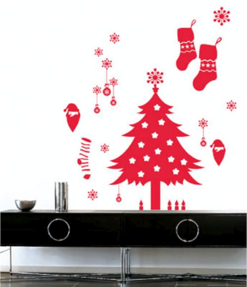 Vinilos Decoracion Navidad ~   la decoraci?n de nuestro hogar a la navidad , con unos vinilos