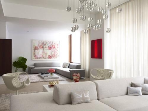 Apartamento moderno con elegante decoraci n decoracion in for Decoracion aptos modernos
